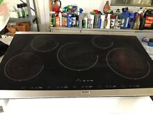 Kenmore 36   glass cook top   only glass