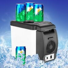 12V Mini Portable Refrigerator Fridge Freezer Cooler Warmer Car Camping Caravan