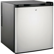Culinair Af100s 1 7Cubic Foot Compact Refrigerator Silver and Black