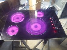 GE Profile  Series 30  Built In Electric Cooktop PP945BMBB