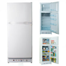 2 Way GAS Refrigerator Freezer AC   Propane Gas Fridge Cabin Garage Camper Van