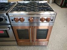 Bluestar RNB304BPMBV2 COPPER INFUSED French Door Gas Range