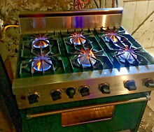 36  Viking Range Professional Natural Gas Range 6 Burner