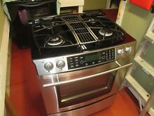 Jenn Air Gas Range  Excellent All Gas Stainless Steel Range  Downdraft
