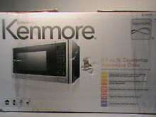 Kenmore 73773 0 9 cu  ft  Microwave Oven   Stainless Steel