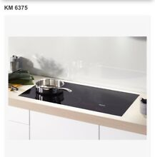 Miele 36  Black Built In Induction Electric Cooktop   KM 6375