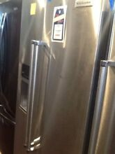Kitchen Aid Side By Side Refrigerator KRSF505ESS