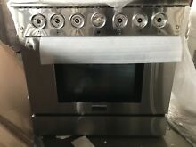 Thor Kitchen HRG3618U 36  Freestanding Professional Gas Range with 5 2 CuFt Oven