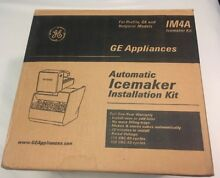New GE IM4A Automatic Ice Maker Installation Kit Profile GE Hotpoint Models