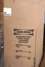 Sub Zero FP4U80GRH S Stainless Steel Single Door Panel