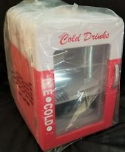 Refreshing Cold Drinks Mini Refrigerator   12V DC   NEW in Box w  Manual