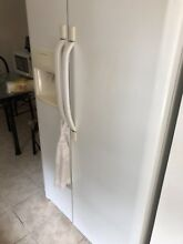 Refrigerator Frigidaire double door with water and ice maker
