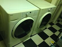 Used Kenmore HE Washer And Dryer  White