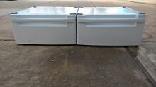 LG  27   pedestals for washer dryer