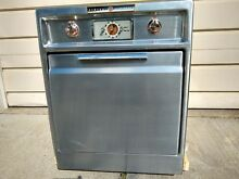 Vintage Retro 1050 s GE Stainless Steel Electric Wall Oven