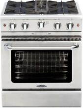 Capital MCOR304N Culinarian Series 30 Inch Gas Freestanding Range