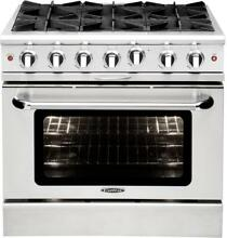Capital Culinarian Series MCOR366N 36Inch Freestanding Gas Range