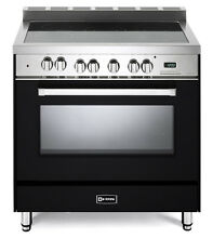 Verona VEFSEE365E 36  Electric Range Single Oven Convection Matte Black