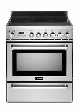Verona VEFSIE304PSS 30  Induction Range Oven Convection Self Cleaning Stainless