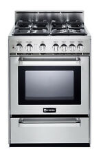 Verona VEFSGG244NSS 24  Pro Style All Gas Range Oven Stainless Steel