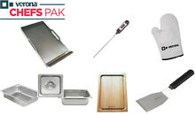 Verona VECP1 Chefs Pak 8 Piece Range Accessory Kit Stainless Steel Griddle