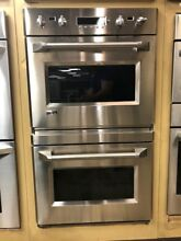 GE Monogram 30  Double Wall Oven ZET2PMSS