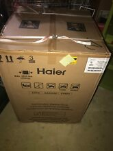 Haier HLC1700AXW 24  2 0 cu  ft  Front Load Washer Dryer Combo White Brand New