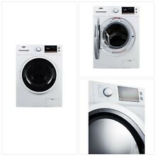 2 cu  ft  All in One Washer and Electric Ventless Dryer in White