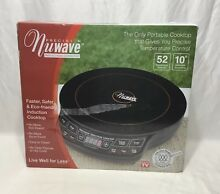 NuWave Precision Induction Cooktop Portable Model 30121 1300W