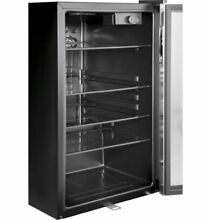 150 Can Beverage Refrigerator by Haier Center Locking Soda Pop Beer Wine Cooler