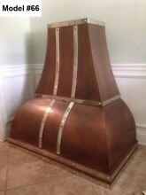 Copper Custom Hood  All Metals And Sizes  Motor Incl    Model  66