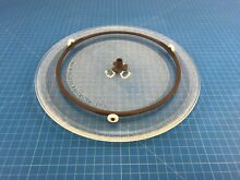 Genuine Kenmore Microwave Oven Glass Turntable Tray Set 3390W1A027A 5889W1A010C
