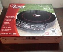 Nuwave Precision Induction Cooktop Black Model  30121 New other