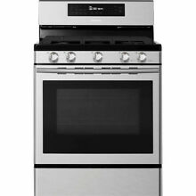 Samsung NX58H5600SS 5 8 cu ft  Gas Range with 5 Burner Cooktop   Stainless Steel