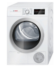 Bosch WTG86401UC 24  500 Series Compact Ventless Electric Dryer White Brand New