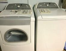 Whirlpool Cabrio Washer Top Load and Dryer Set W  Manuals