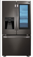 LG Studio LSFXC2496D 36  Black Stainless Counter Depth French Door Refrigerator