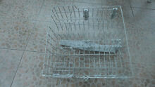 W11169039 Upper Rack  Works On  Whirlpool Dishwasher Gray Used