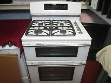 Jenn Air Gas Duel Fuel   Very Nice Double Oven Range