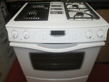 Jenn Air Gas Dual Fuel Range   Used   Nice Condition   Downdraft