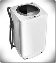 Portable Washing Machine Electric Compact Automatic Apartment Size 8 LB Load New