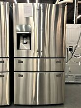 Samsung Stainless 30 Cu  Ft  French 4 Door Show Case Refrigerator   RF30HBEDBSR