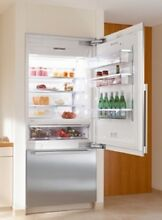 Miele Energy Star 30  Bottom Mount Fully Integrated Refrigerator Freezer