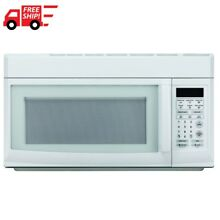 1 6 cu  ft  Over the Range Microwave in White