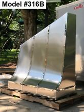 Custom Stainless Range Hood  Motor Incl  Custom Sizes Available   Model  316B
