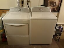 Kenmore top load washer   electric dryer set