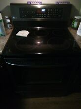 LG 4 Burner Electric Stove With Warming Zone  3 Rack Oven