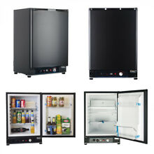 SMAD 2 1CU FT Propane LP Gas Refrigerator Fridge Reversible Door 12V  110V  LPG