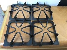 Lot of 4 10329883 REV C Gas Stove Burner Grates