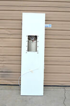 GE WR78X23597 Replacement White Freezer Dispenser Left Hand Door NEW w Flaws